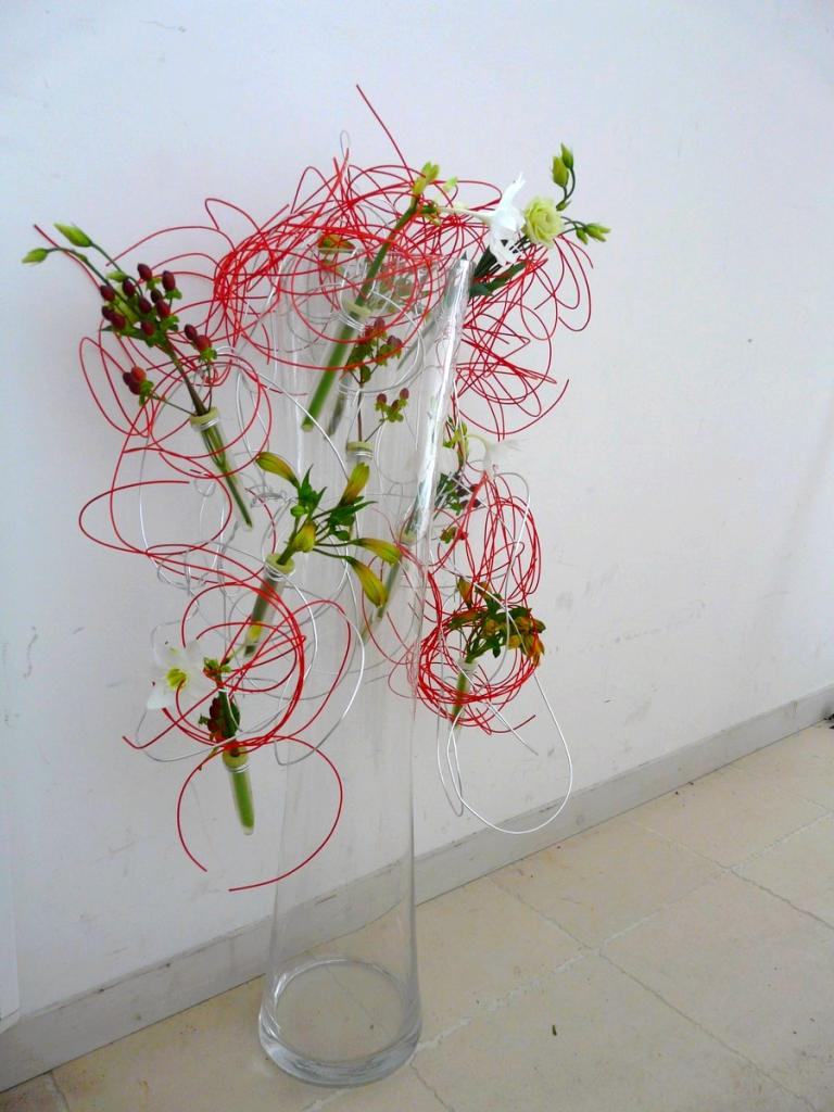 Composition en vase