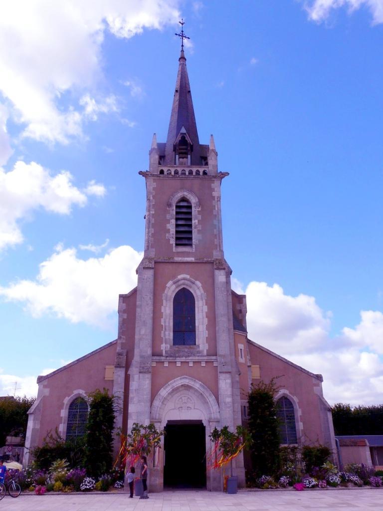 Extérieur de l'église