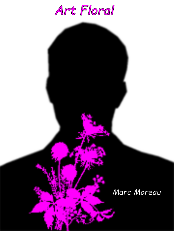 Silhouette art floral